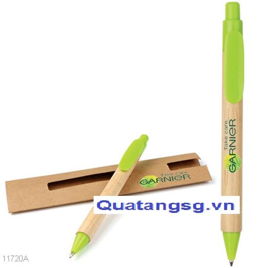 bút bi quà tặng mẫu số 9, bút giấy bảo vệ môi trường