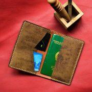 ví da đựng hộ chiếu quà tặng, sản xuất ví đựng hộ chiếu mẫu số 4