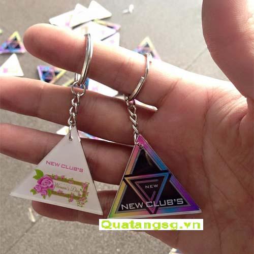 Quà tặng móc khóa, mẫu móc khóa quà tặng bằng mica đẹp