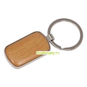 mẫu móc khóa quà tặng cao cấp đẹp làm từ gỗ 01