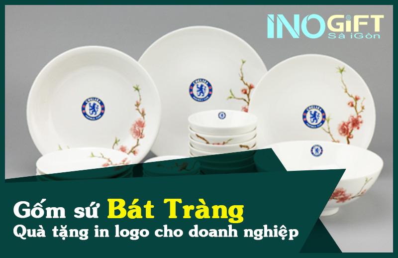Quà tặng gốm sứ Bát Tràng in logo cho doanh nghiệp
