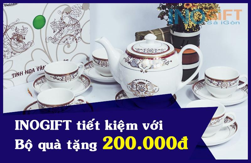 Gốm sứ rẻ đẹp - Bộ quà tặng khách hàng - chỉ từ 200.000đ