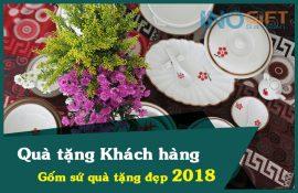 Các mẫu quà tặng khách hàng - quà tặng gốm sứ đẹp 2018
