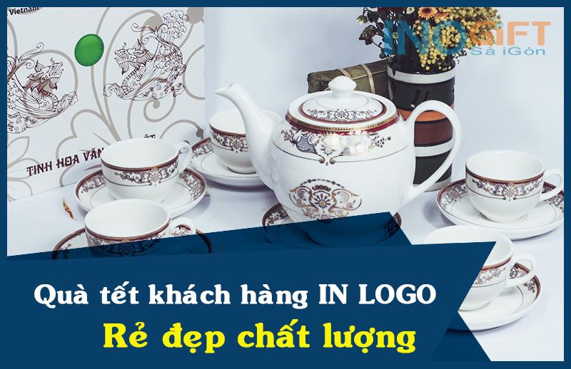 Quà tết khách hàng in logo rẻ đẹp - đảm bảo chất lượng