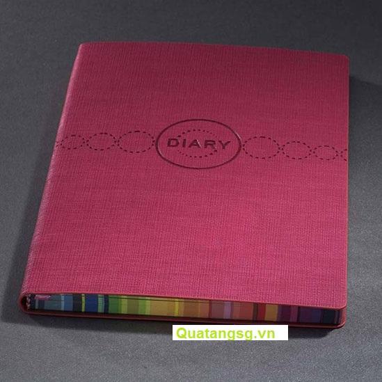 Sổ Bìa Da Dán Gáy - Sổ Da đẹp quà tặng giá rẻ