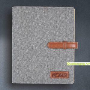 Sổ da nhét ruột số 8 - Sản xuất sổ da rẻ đẹp