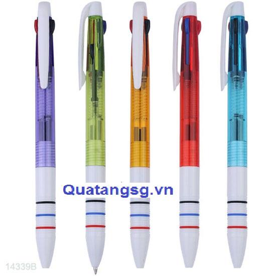 Bút bi quà tặng giá rẻ, mẫu bút bi nhiều màu