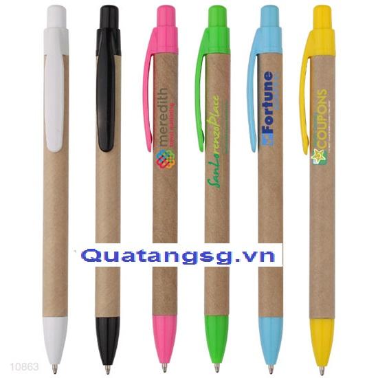 mẫu bút quà tặng độc đáo - bút giấy bảo vệ mội trường 03