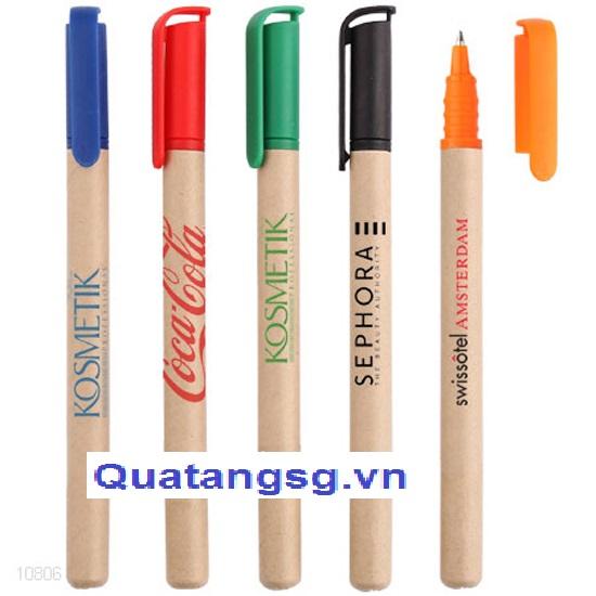 bút bi quà tặng số 7, mẫu bút bảo vệ môi trường