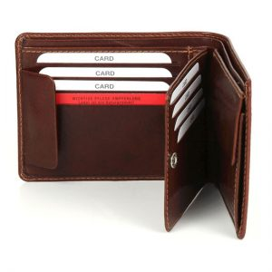 Mẫu ví da giá rẻ, ví da đẹp quà tặng mẫu số 24