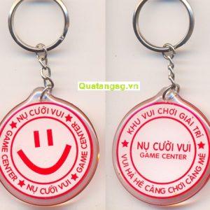 Móc khóa nhựa dẻo, mẫu móc khóa quà tặng nhựa dẻo cao cấp số 2