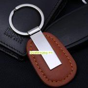 móc khóa da quà tặng, mẫu móc khóa da đẹp cao cấp 01