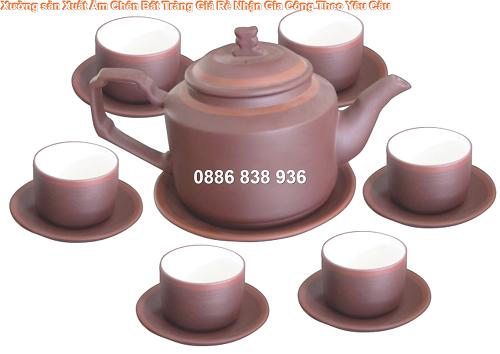 ấm trà in logo quà tặng đại hội