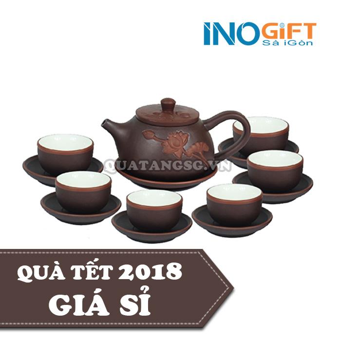 ấm trà gốm sứ đẹp quà tặng
