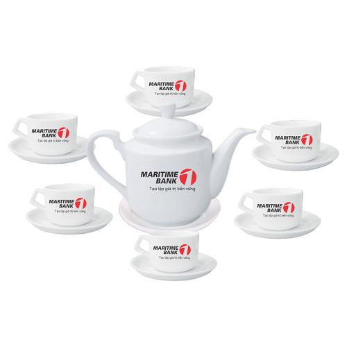 Bộ ấm trà in logo đẹp giá rẻ