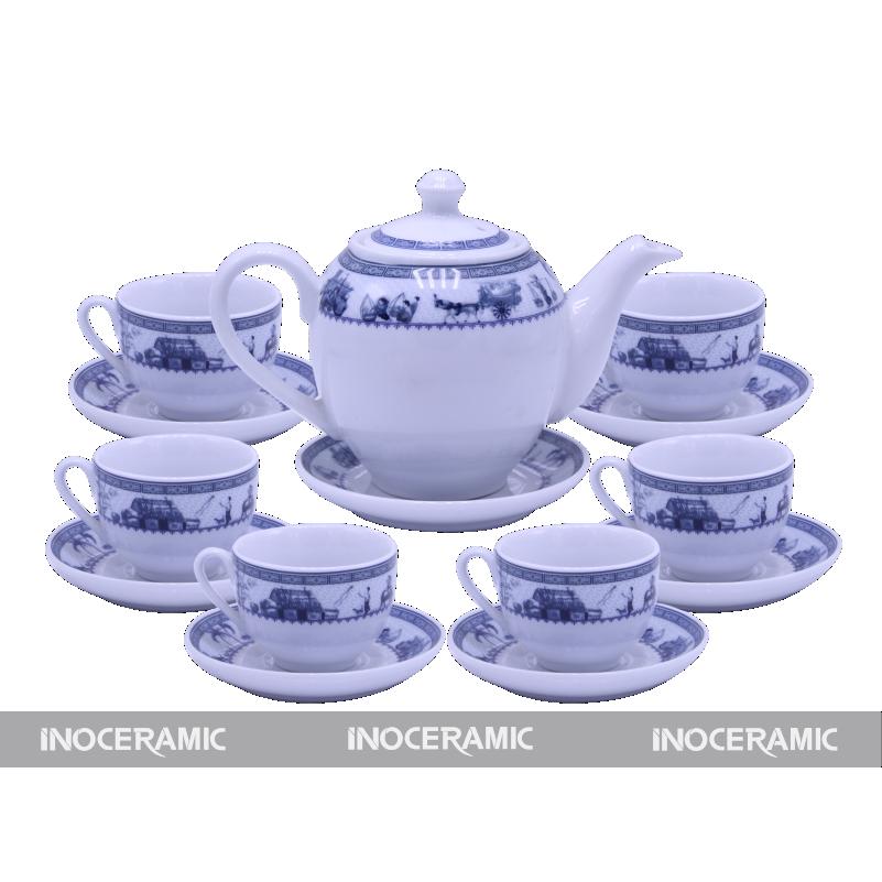 ấm trà minh long in logo đẹp