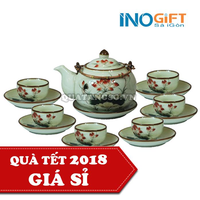 bộ ấm trà quà tặng tết