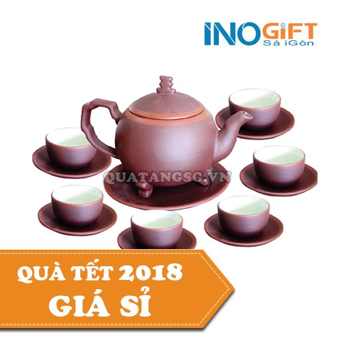 quà tặng tết ấm trà