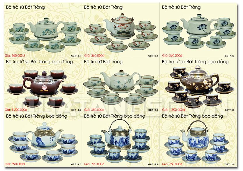 quà tết ấm trà