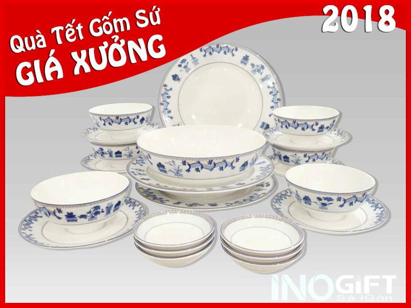 Bát đĩa Minh Long - hãy chọn quà tặng gốm sứ chất lượng