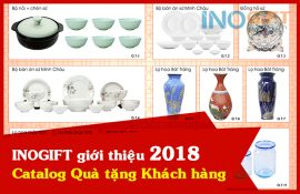 Bảng giá quà tặng khách hàng 2018 - Catalog quà tết tại INOGIFT