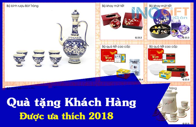 Những món quà tặng khách hàng được ưa thích đầu năm 2018