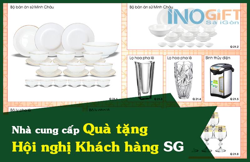 Quà tặng hội nghị khách hàng nên mua ở nhà cung cấp nào Sài Gòn?