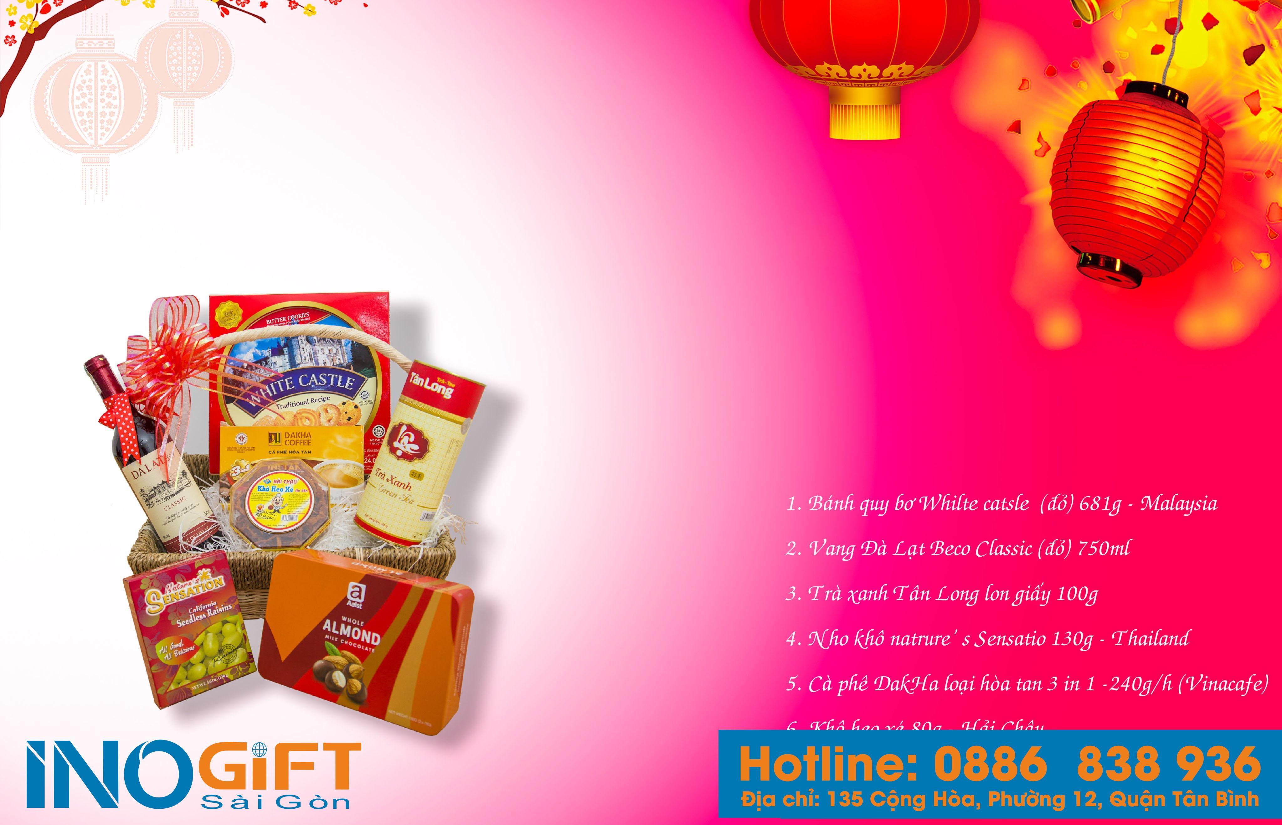 Công ty cung cấp quà tặng, giỏ quà tết giá sỉ rẻ nhất tại tphcm