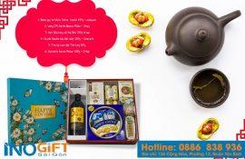 [Quà tặng tết cho doanh nghiệp] Bộ trà bát tràng cao cấp đẹp ý nghĩa tại tphcm