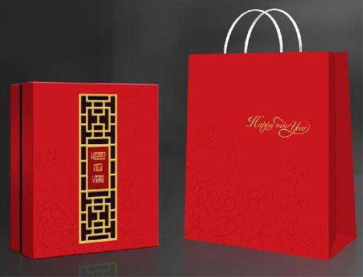 Cung cấp hộp quà tết - In hộp giấy đựng quà Tết cho doanh nghiệp 2020