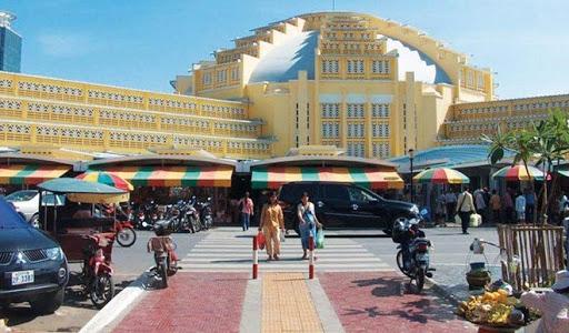 Review Chợ đồ si Phnom Penh - nguồn đồ si Campuchia