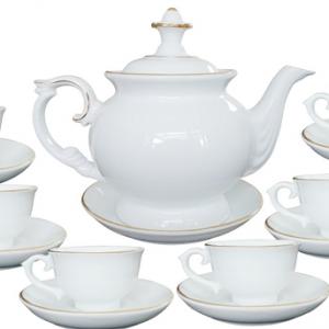 Bộ ấm trà Bát Tràng 07