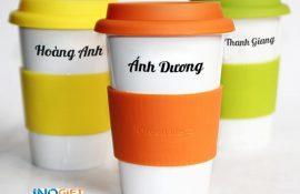 [quà tặng 20/10] Gợi ý quà tặng ly sứ in logo cho cán bộ nhân viên doanh nghiệp