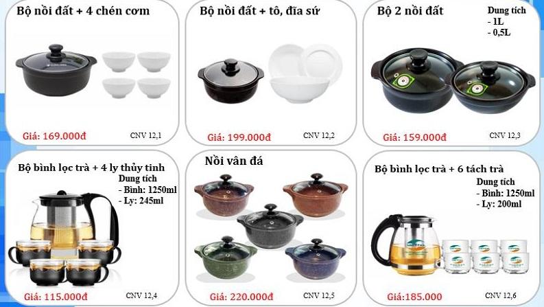 [ Quà tặng ngày doanh nhân việt nam ] tham khảo mẫu catalog của Quà tặng Sài Gòn