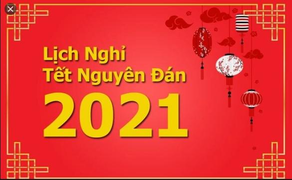 [ Giải đáp ] lịch nghỉ tết nguyên đán 2021 của nhà nước ?