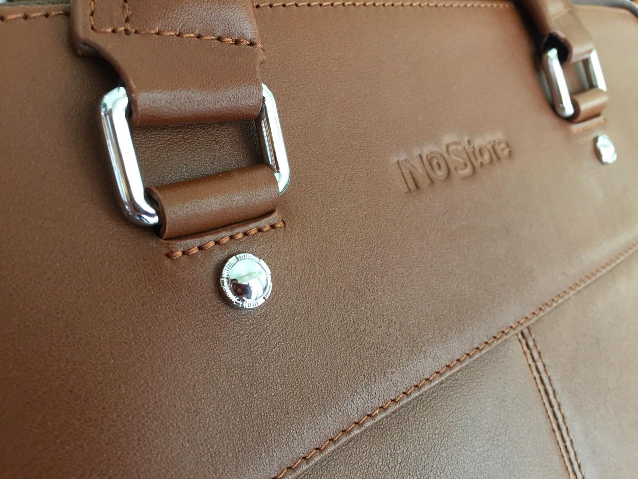 Cặp da bò đựng laptop - quà tặng cao cấp cho doanh nhân