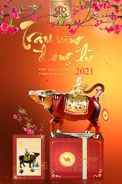 Rượu linh vật con trâu 2021 mua ở đâu ? giá bán bao nhiêu tiền ?
