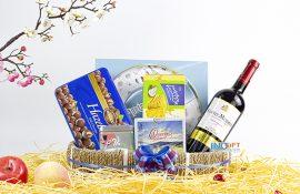 Giỏ quà tết 300k - Nguồn hàng sỉ hộp quà tặng tết nhiều mức giá rẻ