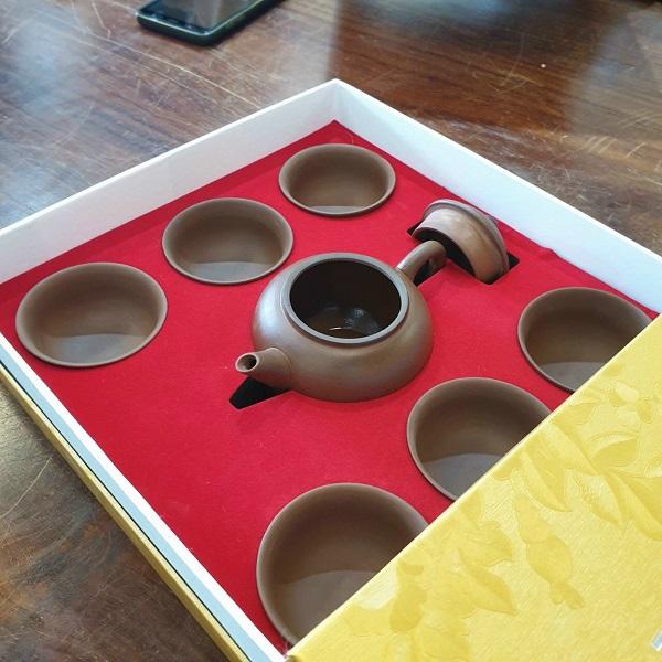 Bộ ấm trà an thổ túc cao cấp làm quà tặng khách hàng doanh nghiệp