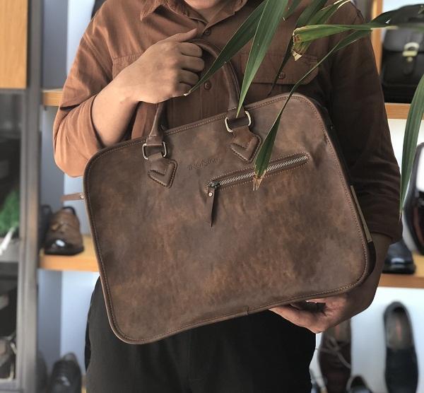 Sản xuất túi xách da quà tặng đại hội phật giáo tỉnh Vĩnh Long
