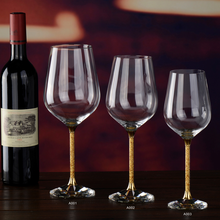 [ Quà tặng khách hàng vip ] Bộ ly rượu vang cao cấp in logo doanh nghiệp