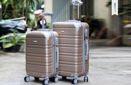 Xưởng cung cấp vali nhựa giá rẻ in logo làm quà tặng doanh nghiệp, khách hàng tại tphcm