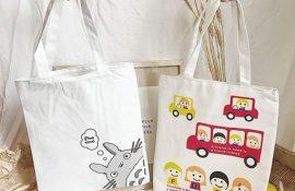 Túi vải bố, vải canvas túi vải dù, túi hội nghị, túi vải quà tặng in logo