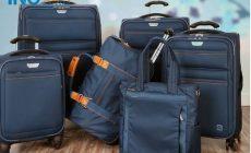 So sánh túi kéo du lịch sakos và túi kéo du lịch vải bố doma cái nào tốt hơn