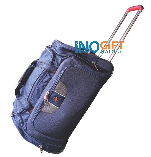 [ Quà tặng doanh nghiệp in logo ] Túi du lịch có bánh xe kéo in logo tại tphcm