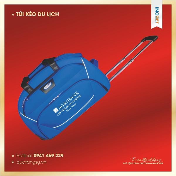 Báo giá túi kéo du lịch in logo quà tặng số lượng lớn tại tphcm | INOGIFT SG