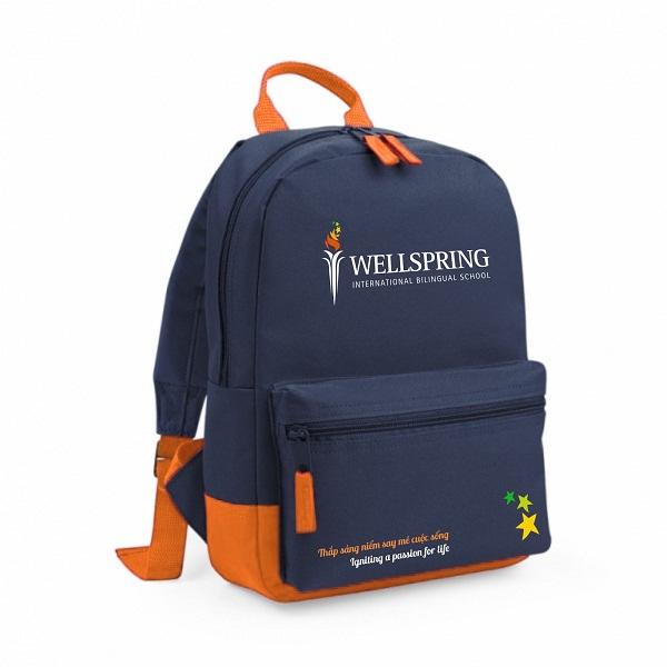Quà tặng cuối năm cho học sinh tiểu học - balo học sinh in logo theo yêu cầu giá rẻ tại tphcm