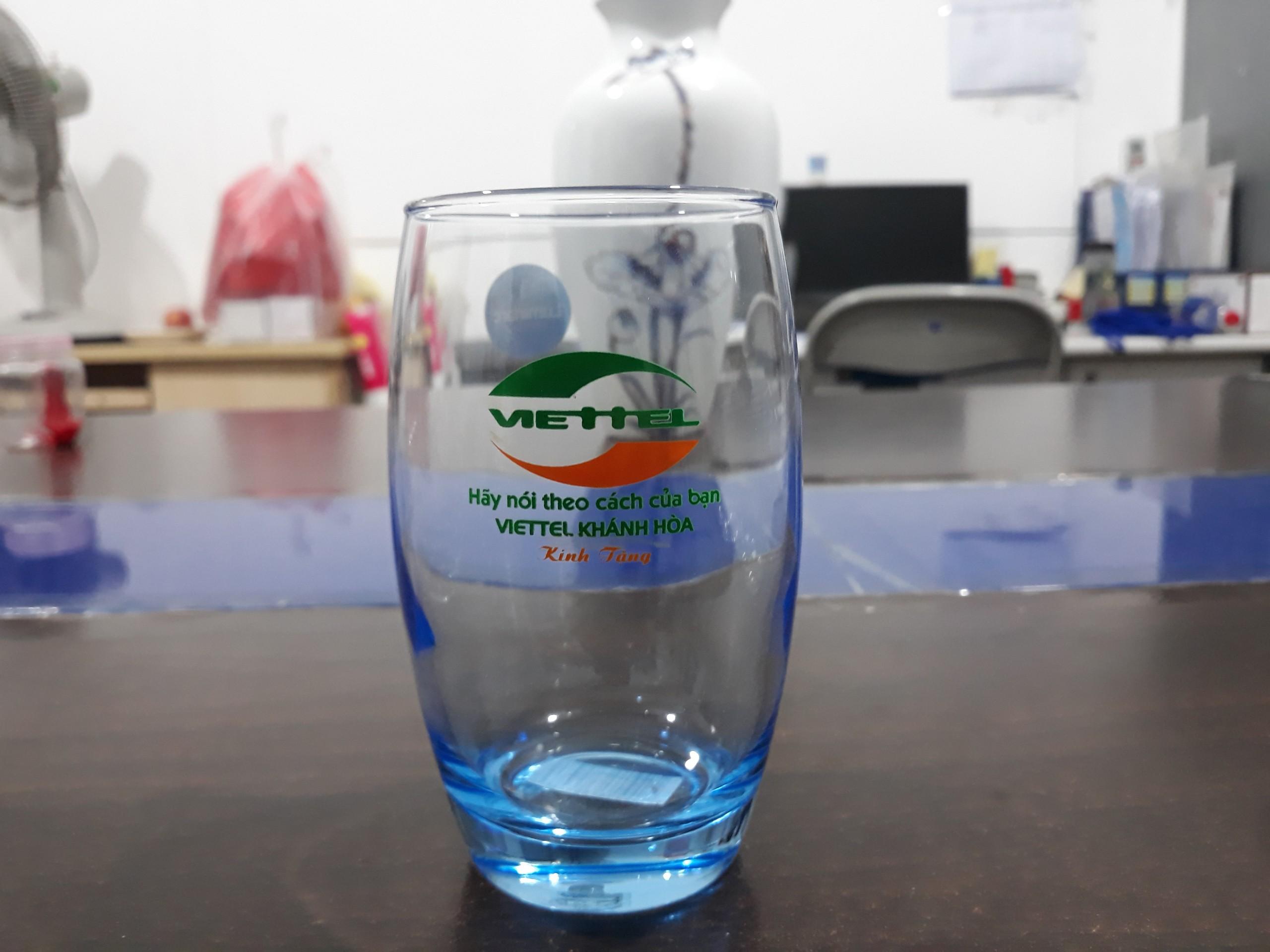 Bộ ly thuỷ tinh luminarc in logo làm quà tặng doanh nghiệp số lượng lớn giá tốt nhất tại tphcm