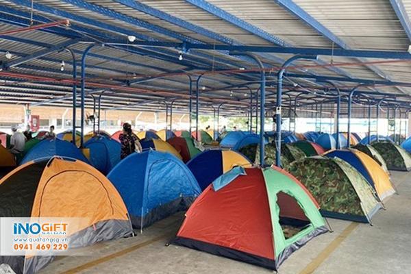 [Báo giá] Lều cắm trại cách ly covid số lượng lớn cho công nhân khu công nghiệp, xí nghiệp tại tphcm