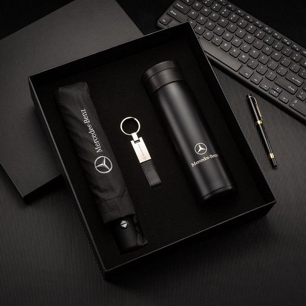 Bộ quà tặng văn phòng in logo độc đáo mới lạ - Bộ giftset cao cấp